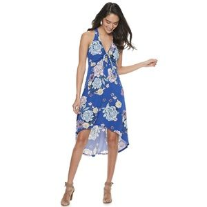 XL or XXL Candies high- low floral maxi dress